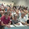 Aula magna piena alla conferenza di Beppe Scienza a Torino